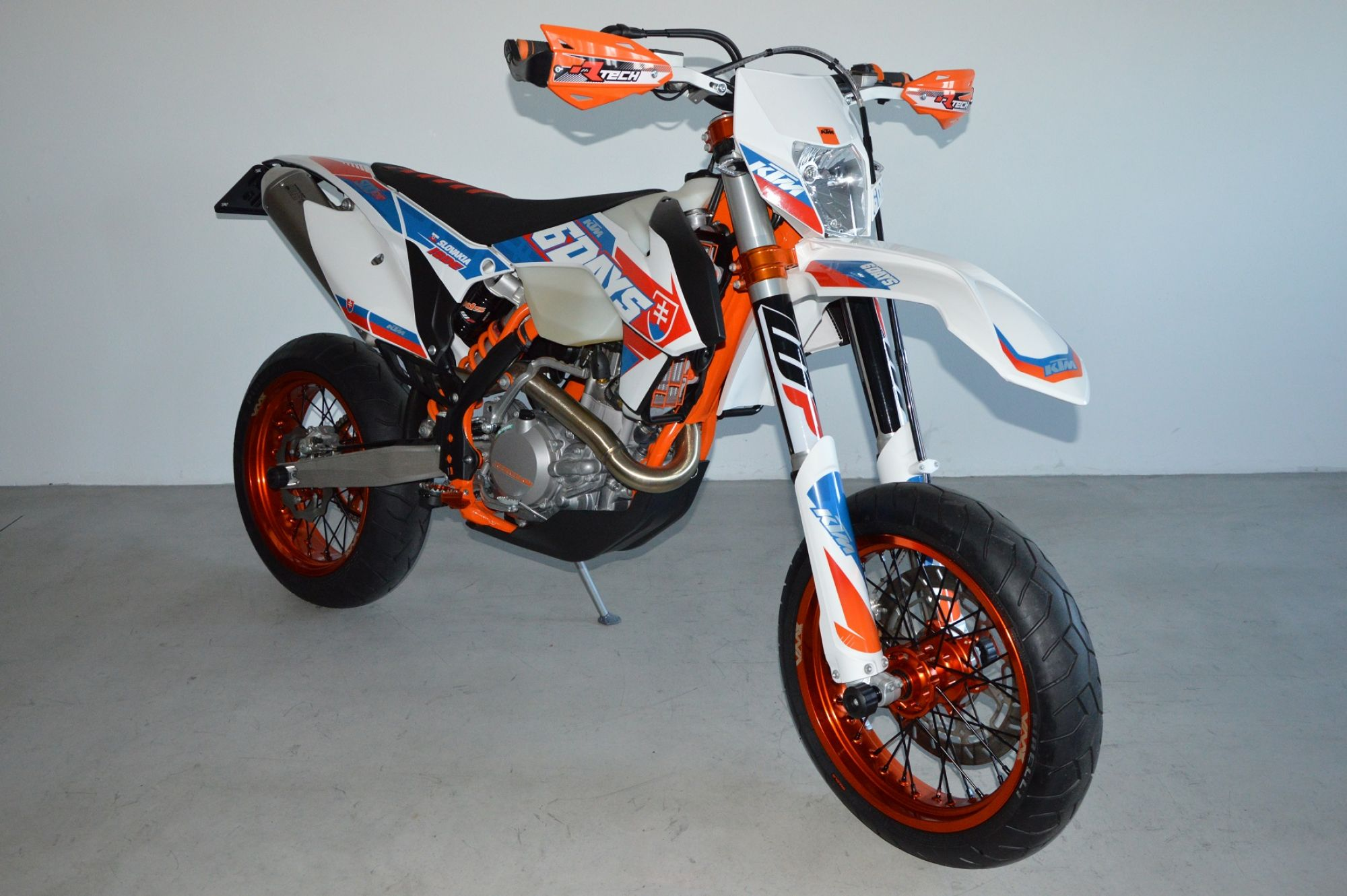ktm 500 exc sixdays supermoto by motosport niedermayr. Black Bedroom Furniture Sets. Home Design Ideas